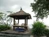 Беседка на пляже на Бали