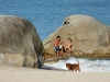 Отдыхающие на пляже в Таиланде