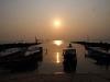 Закат над морем в Таиланде