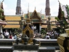 Храм Изумрудного Будды. Внутренний двор