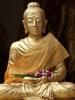 Статуя в храме в Таиланде