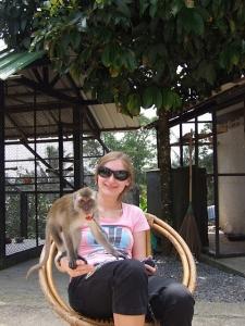 Турист на отдыхе в Таиланде