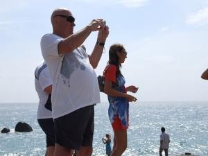 туристы на Ламаи