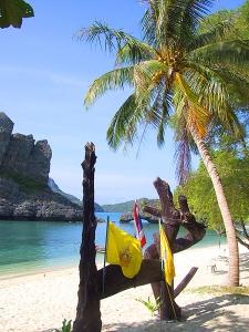 Пляж рядом с Самуи